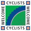 Cyclists are welcome